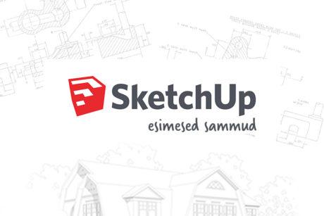 SketchUp esimesed sammud